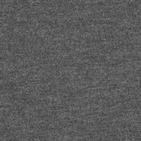 Light Charcoal Grey Modal Spandex Jersey Knit Fabric, 1 Yard
