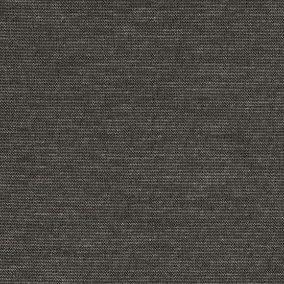 Two Tone Charcoal Grey Ponte De Roma Knit Fabric, 1 yard
