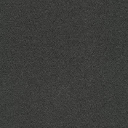 Charcoal Grey Modal Cotton Knit Fabric