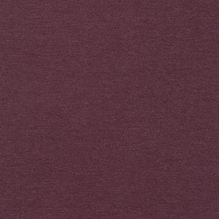 Burgundy Modal Cotton Knit Fabric