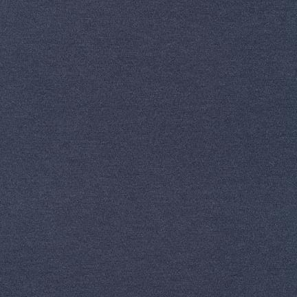 Navy Modal Cotton Knit Fabric