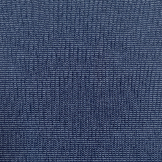 Two Tone Denim Blue Ponte De Roma Knit Fabric - Raspberry Creek Fabrics