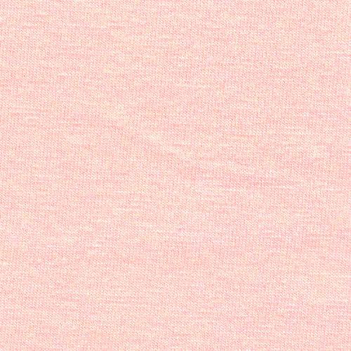 Light Pink Peach Modal Spandex Jersey Knit Fabric, 1 Yard