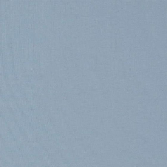 Dusty Blue 4 Way Stretch 8oz Rayon Spandex Jersey Knit Fabric, 1 Yard