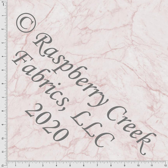 Dusty Pink Marble Look, Textures for Club Fabrics - Raspberry Creek Fabrics