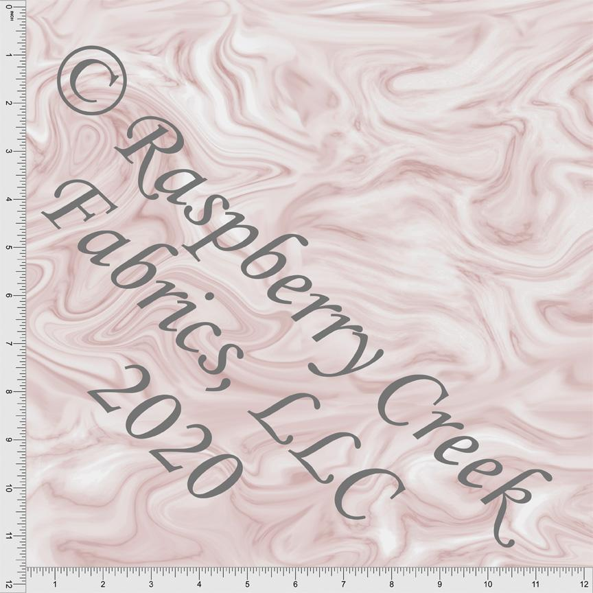 Dusty Pink Marble Swirl Look, Textures for Club Fabrics - Raspberry Creek Fabrics