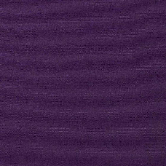 Solid Bright Eggplant Rayon Challis - Raspberry Creek Fabrics
