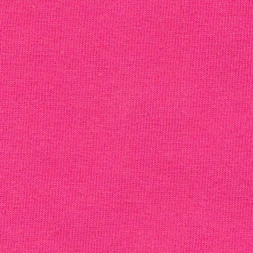 Solid Fuchsia Double Brushed Poly Spandex Knit - Raspberry Creek Fabrics