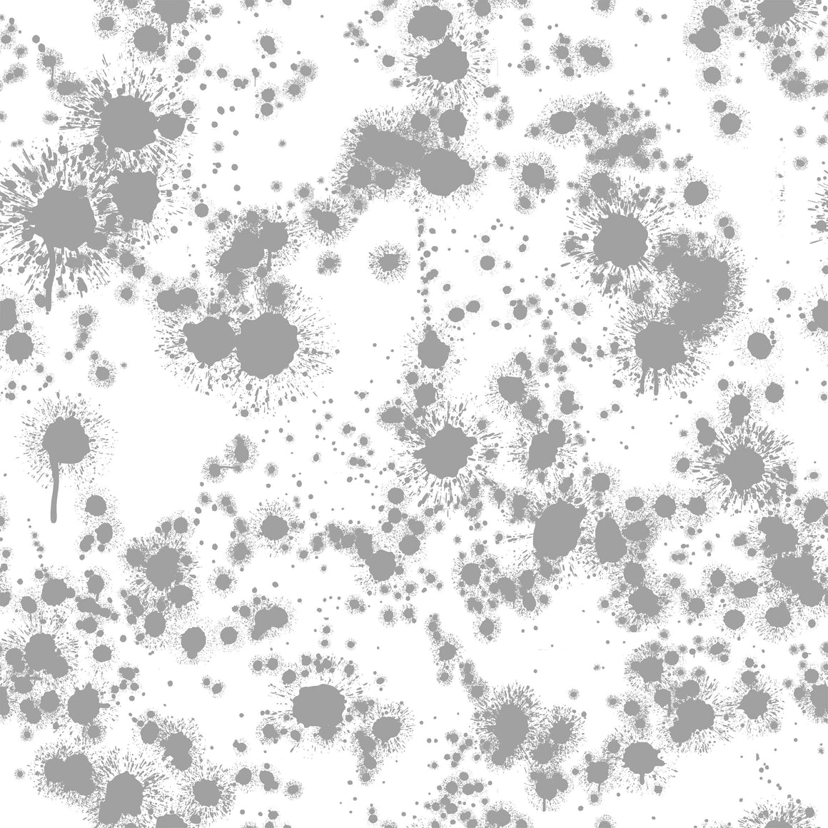 Grey Paint Splatter Look, Textures for Club Fabrics - Raspberry Creek Fabrics