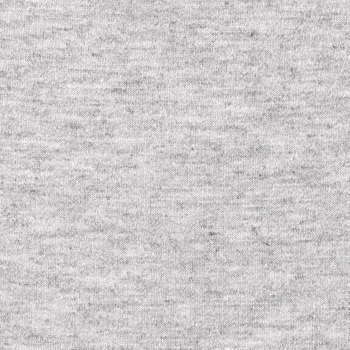 Heather Grey Modal Spandex Jersey Knit Fabric, 1 Yard