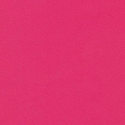 Hot Pink Medium Weight Twill, Ventana Twill Collection by Robert Kaufman - Raspberry Creek Fabrics