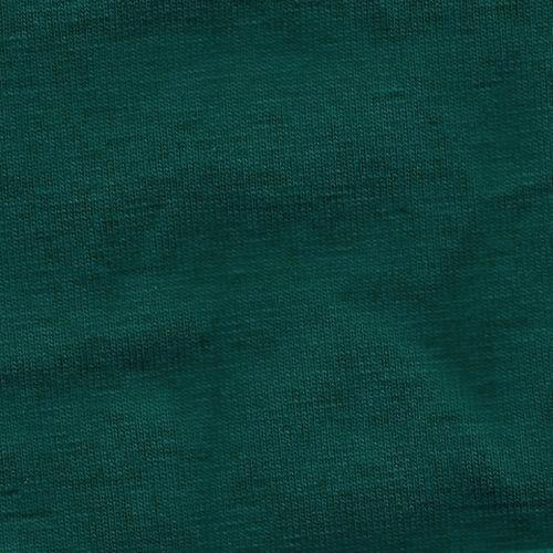 Solid Hunter Green 4 Way Stretch 10 oz Cotton Lycra Jersey Knit Fabric, 1 Yard