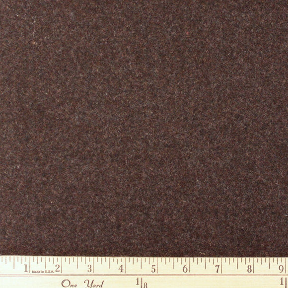Heathered Brown Wool - Raspberry Creek Fabrics