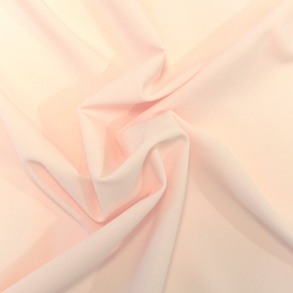 Light Blush Peach Lightweight Tropical Twill, 1 Yard