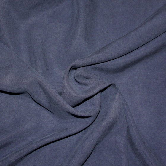 Navy Blue Lightweight Enzyme Wash Tencel Twill, 1 Yard