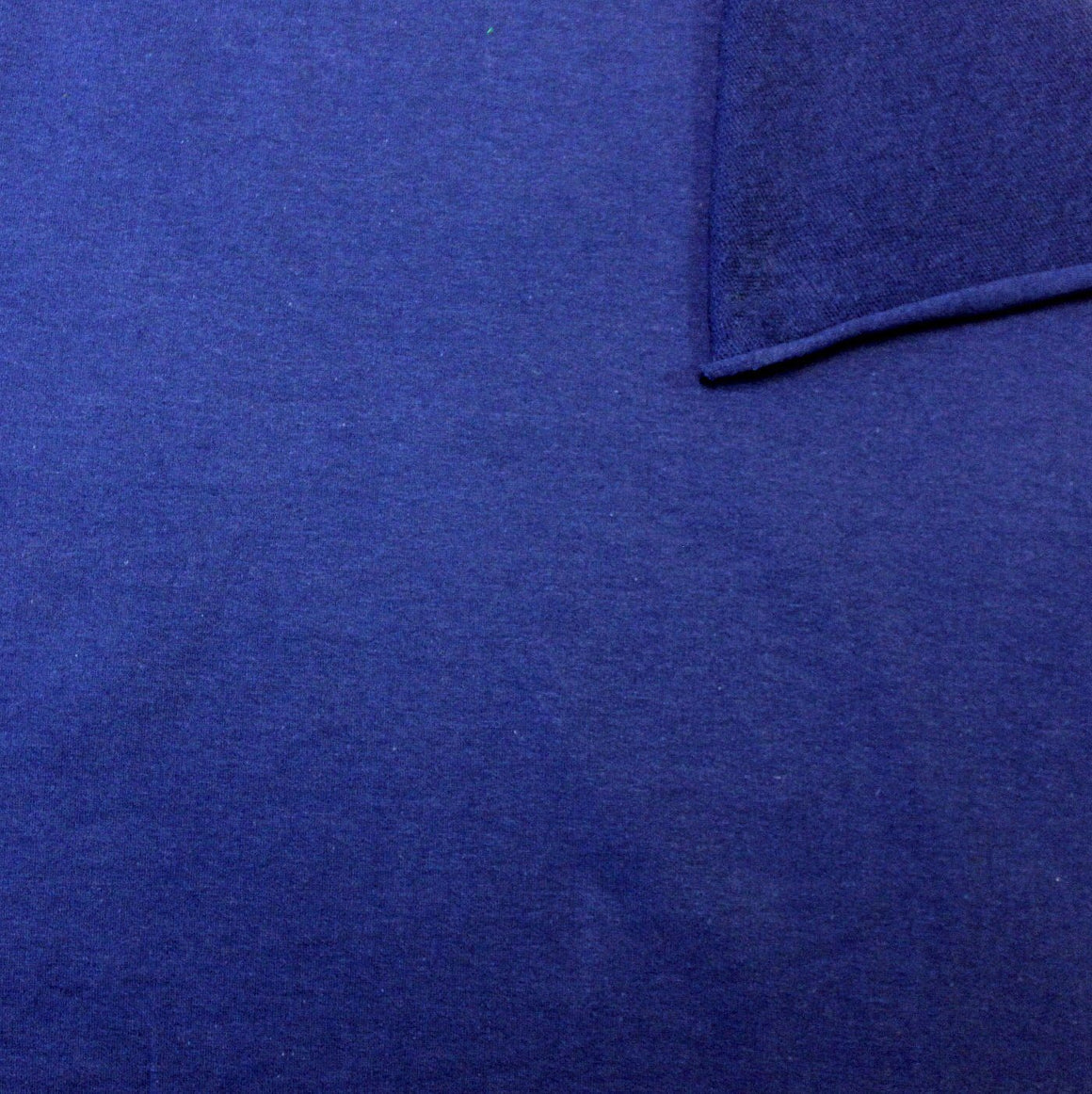 Solid Royal Blue 4 Way Stretch French Terry Knit Fabric With Spandex, 1 Yard - Raspberry Creek Fabrics