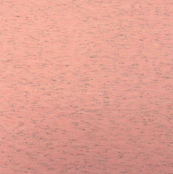 Heathered Coral Cotton Poly Jersey Knit Fabric, 1 Yard - Raspberry Creek Fabrics