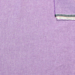 Lilac Purple Light to Medium Weight Chambray - Raspberry Creek Fabrics Knit Fabric