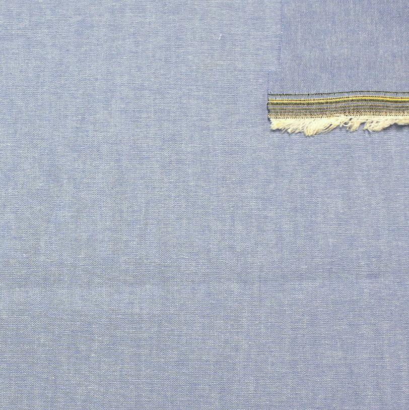 Light Denim Blue Light to Medium Weight Chambray - Raspberry Creek Fabrics