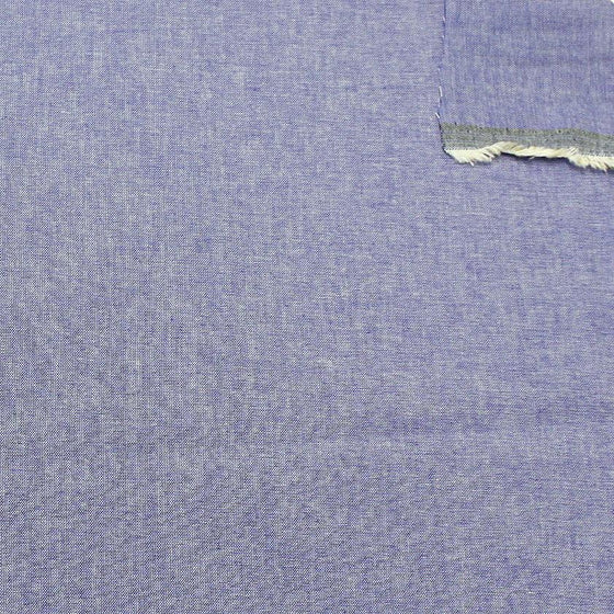 Indigo Blue Light to Medium Weight Chambray - Raspberry Creek Fabrics