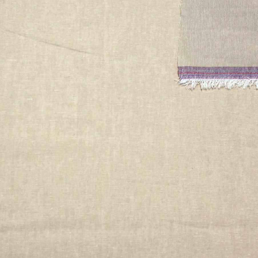 Taupe Light to Medium Weight Chambray - Raspberry Creek Fabrics Knit Fabric