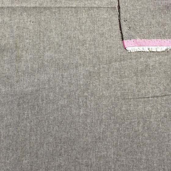 Charcoal Grey Light to Medium Weight Chambray - Raspberry Creek Fabrics