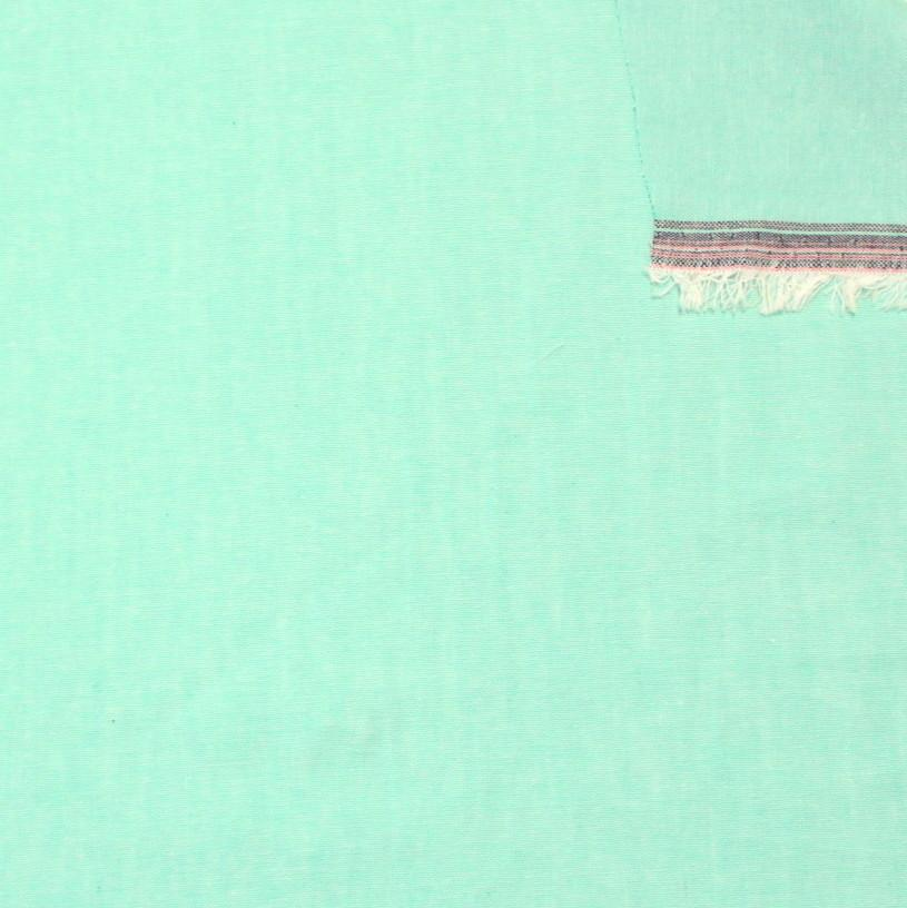 Mint Green Light to Medium Weight Chambray - Raspberry Creek Fabrics