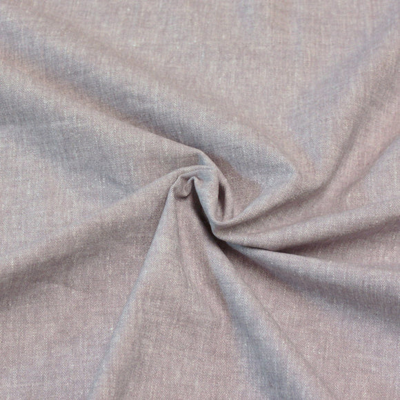 Heathered Light Dusty Purple Medium Weight Stretch Linen - Raspberry Creek Fabrics