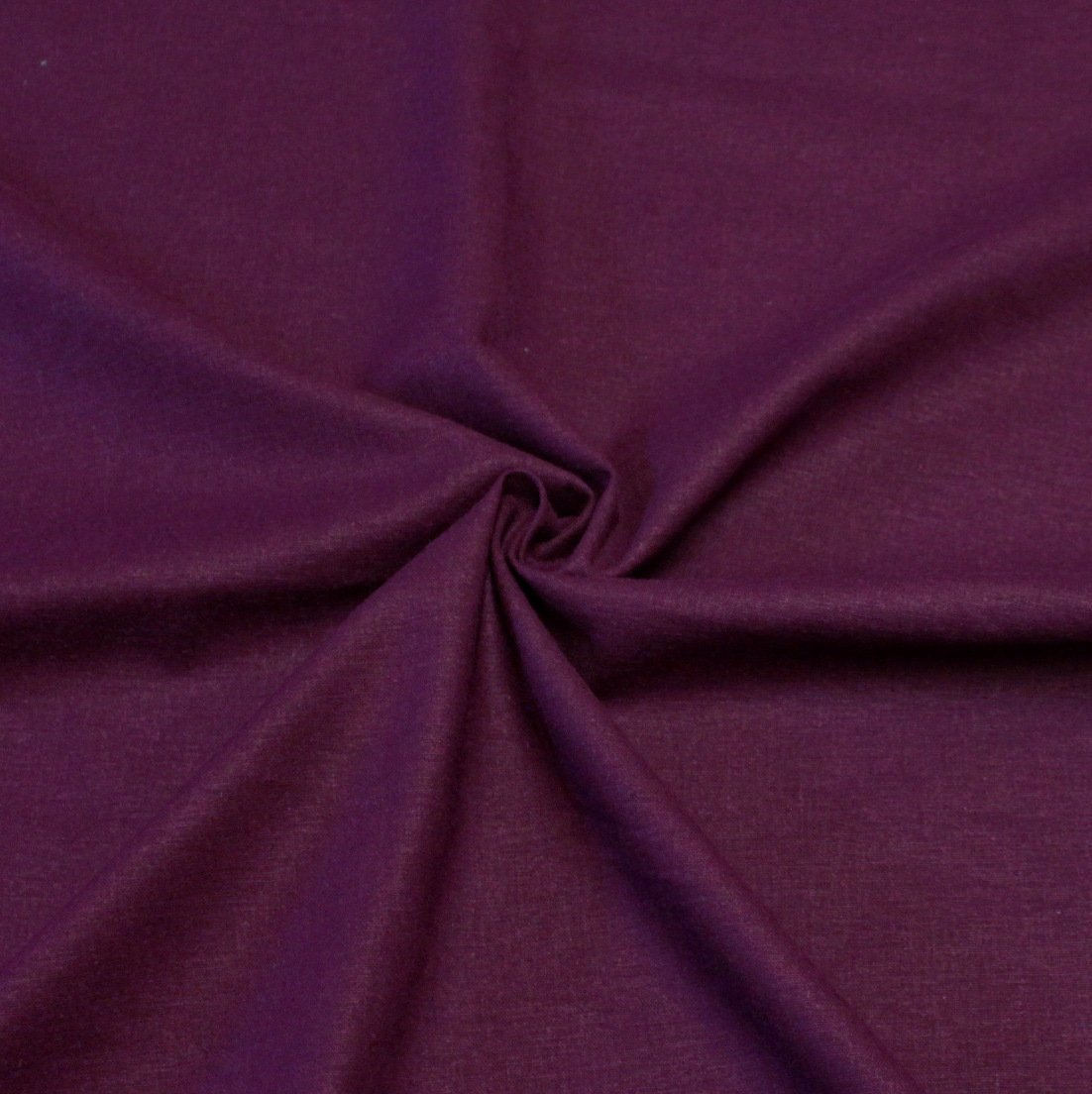 Bright Eggplant Medium Weight Stretch Linen - Raspberry Creek Fabrics