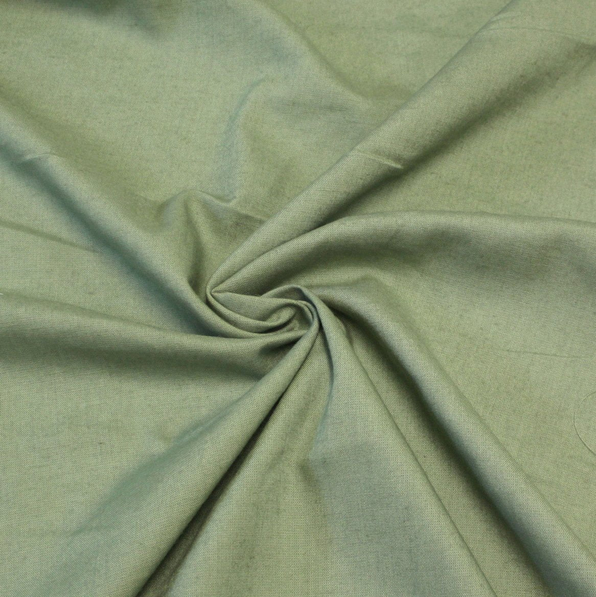 Sage Green Medium Weight Rayon Linen - Raspberry Creek Fabrics Knit Fabric