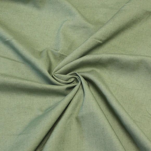 Sage Green Medium Weight Rayon Linen - Raspberry Creek Fabrics