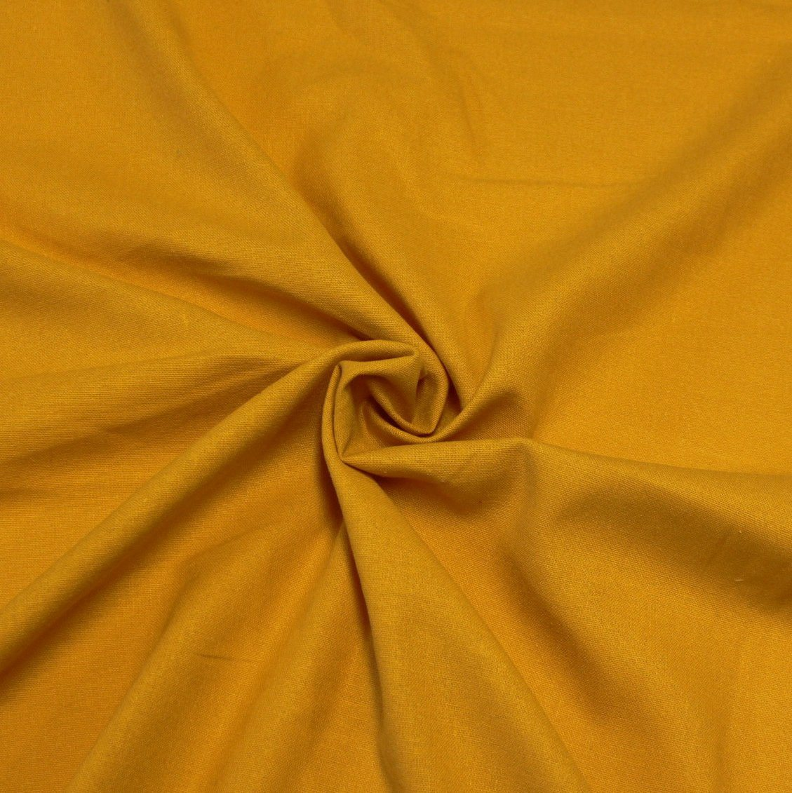 Mustard Medium Weight Rayon Linen - Raspberry Creek Fabrics