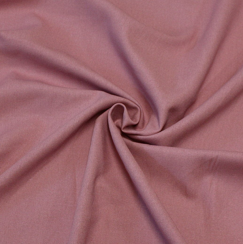 Mauve Medium Weight Rayon Linen - Raspberry Creek Fabrics