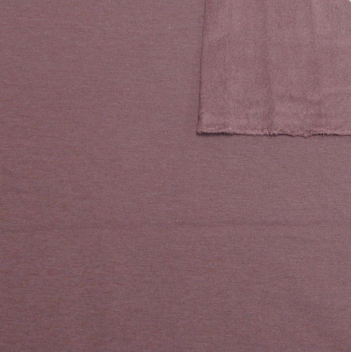 Deep Mauve Bamboo Cotton Spandex 4 Way Stretch Sweatshirt Fleece - Raspberry Creek Fabrics