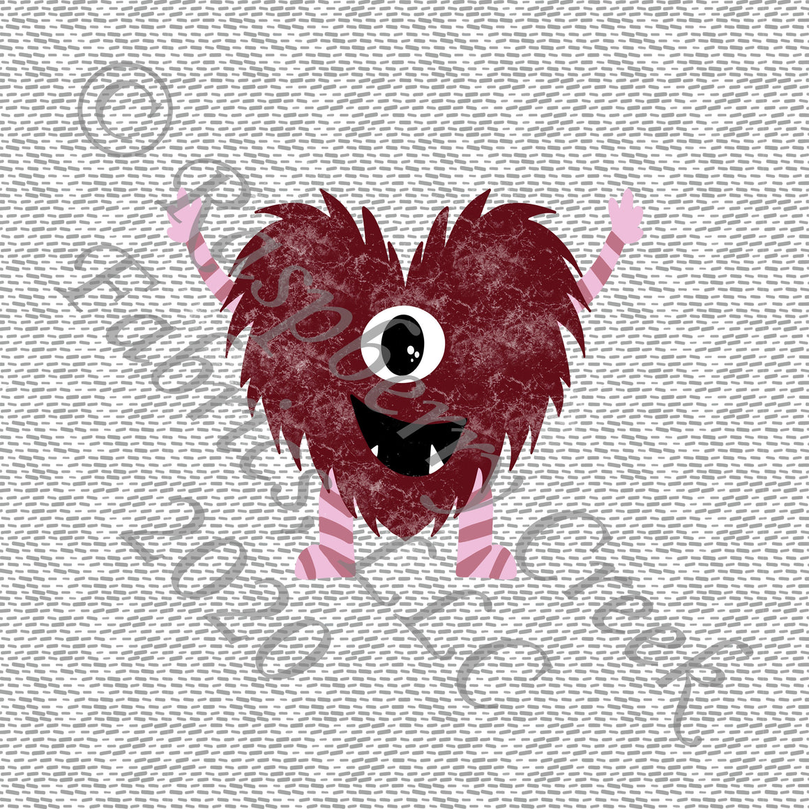 Burgundy Mauve Pink and Grey Valentines Love Bug Panel, By Kelsey Shaw for Club Fabrics - Raspberry Creek Fabrics