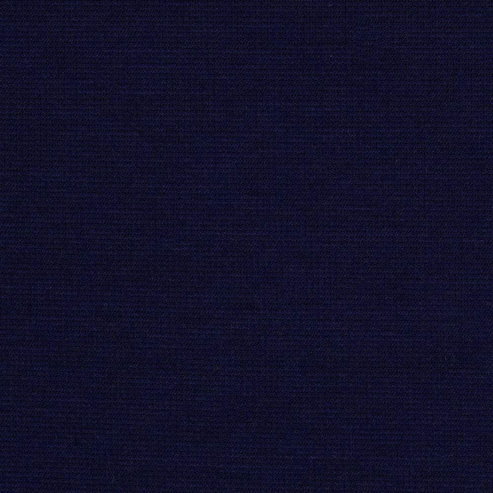 Navy Blue Ponte De Roma Knit Fabric - Raspberry Creek Fabrics
