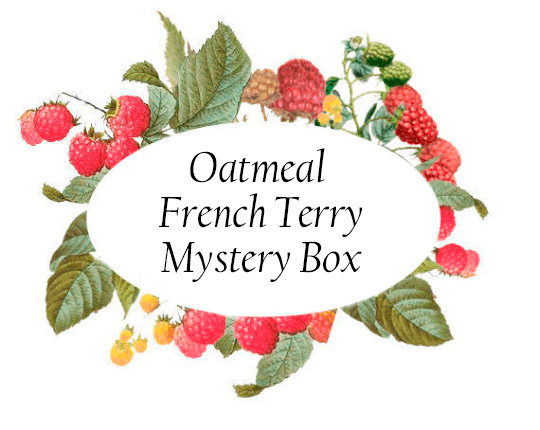 Solid Oatmeal French Terry Mystery Box - Raspberry Creek Fabrics