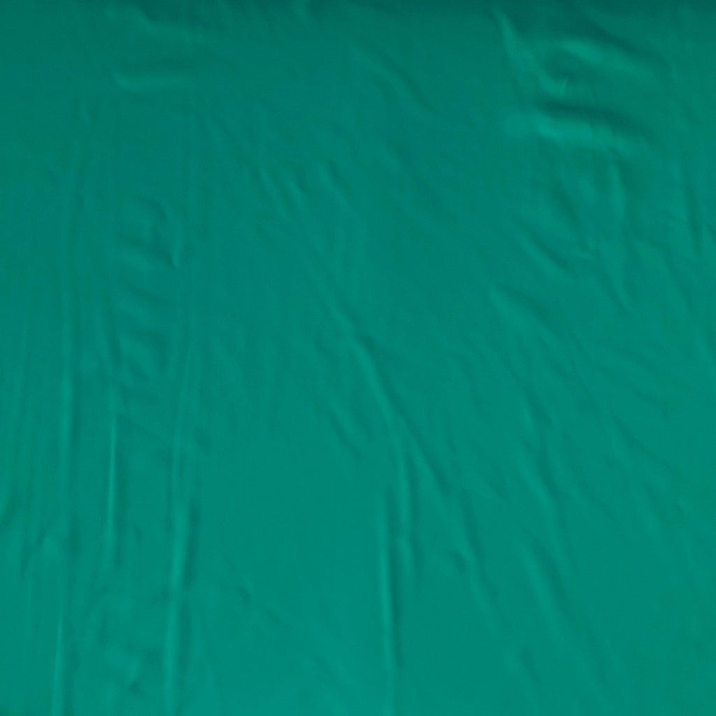 Solid Peacock Teal 4 Way Stretch MATTE SWIM Knit Fabric - Raspberry Creek Fabrics