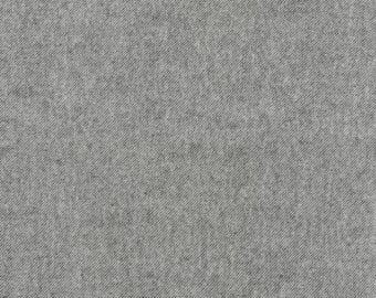 Pepper Grey Tweed Look Tahoe Flannel by Robert Kaufman, 1 yard