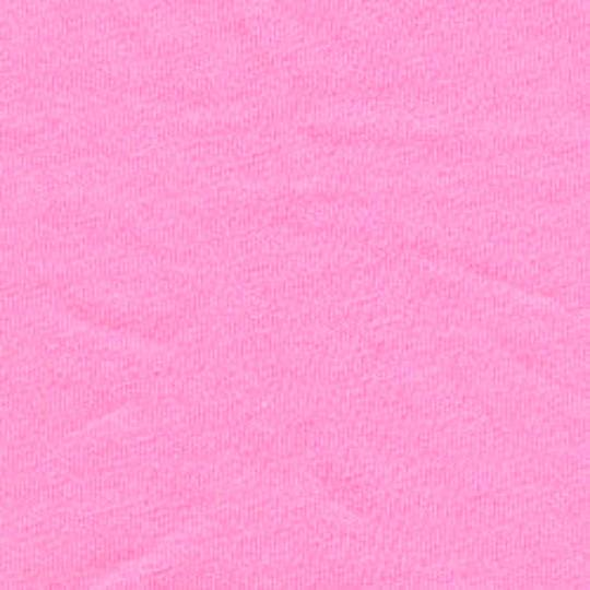 Solid Bright Bubblegum Pink 4 Way Stretch 10 oz Cotton Lycra Jersey Knit Fabric, 1 Yard