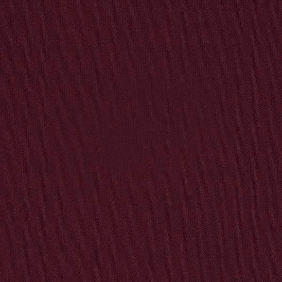 Solid Burgundy Double Brushed Poly Spandex Knit - Raspberry Creek Fabrics