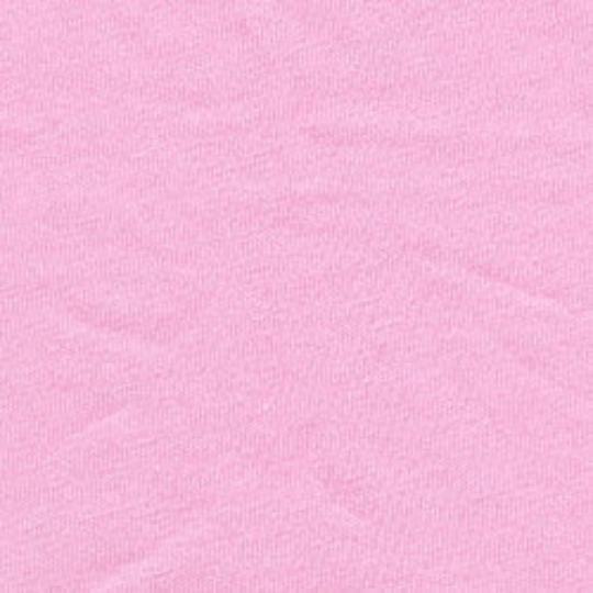 Solid Light Pink 4 Way Stretch 10 oz Cotton Lycra Jersey Knit Fabric, 1 Yard