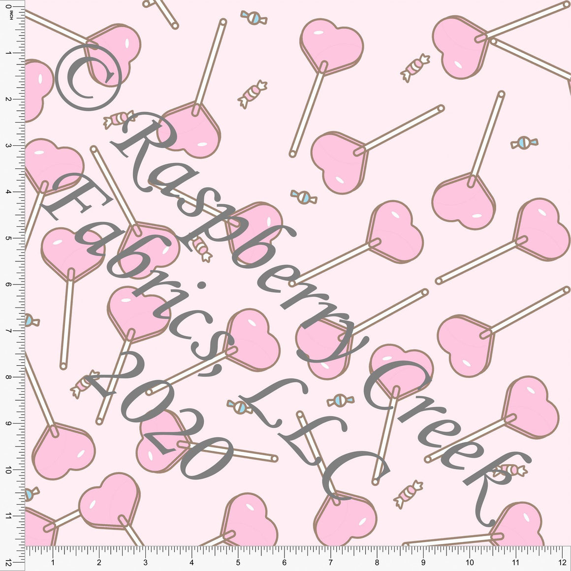 Tonal Pink Tossed Candy, Candy Shoppe By Bri Powell for Club Fabrics - Raspberry Creek Fabrics