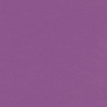 Deep Lilac Medium Weight Twill, Ventana Twill Collection by Robert Kaufman - Raspberry Creek Fabrics
