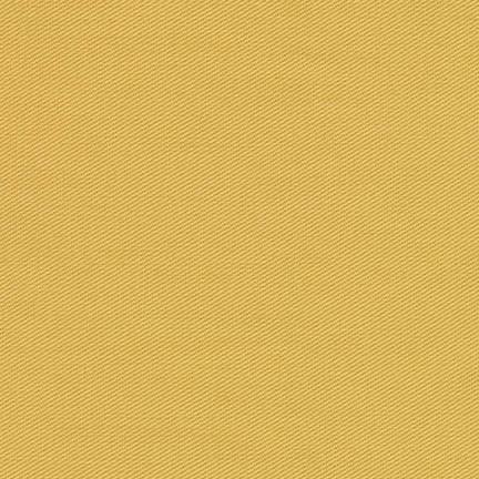 Mustard Yellow Jasmine Medium Weight Twill, Ventana Twill Collection by Robert Kaufman, 1 Yard - Raspberry Creek Fabrics