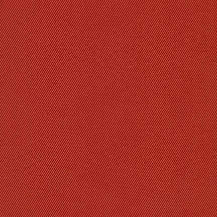 Canyon Red Medium Weight Twill, Ventana Twill Collection by Robert Kaufman, 1 Yard - Raspberry Creek Fabrics