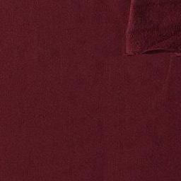 Solid Burgundy 4 Way Stretch French Terry Knit Fabric With Spandex, 1 Yard - Raspberry Creek Fabrics