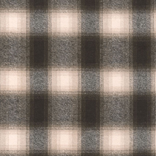 Olive Grey and Cream Robert Kaufman Mammoth Plaid Flannel, 1 Yard