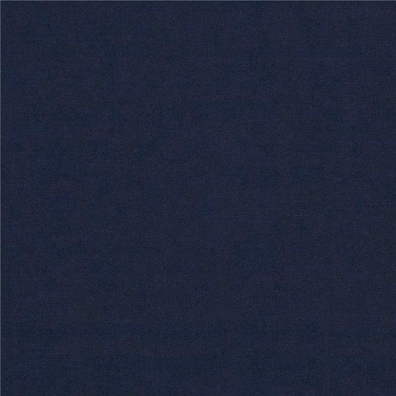 Solid Navy Blue 4 Way Stretch 10 oz Cotton Lycra Jersey Knit Fabric, 1 Yard - Raspberry Creek Fabrics