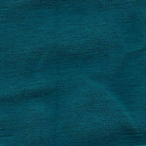 Solid Teal Green 4 Way Stretch 10 oz Cotton Lycra Jersey Knit Fabric, 1 Yard